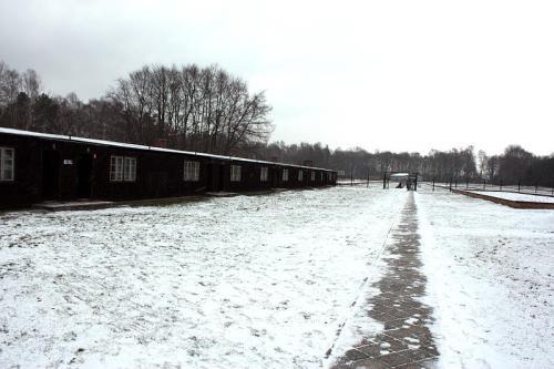 Baraki w obozie Stutthof
