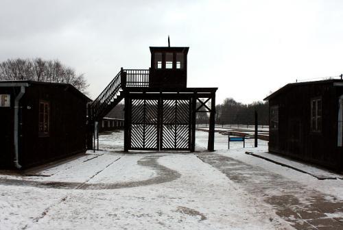 Brama Śmierci w obozie Stutthof (Sztutowo)