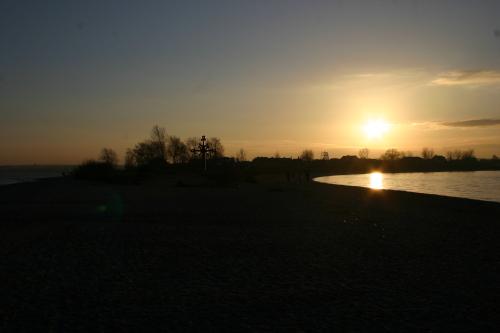 Rewa - zachód słońca